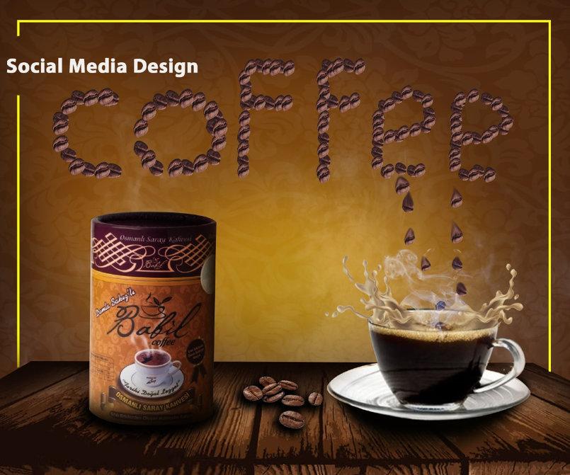 تصاميم سوشال ميديا اعلان قهوه