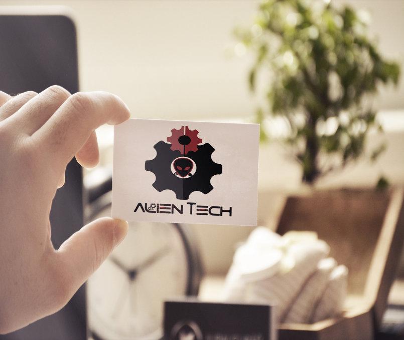 Alien Tech - Logo -