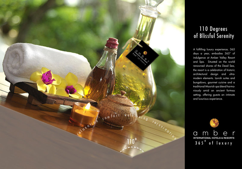 Corp. campaign ad for Amber Spa & Resort