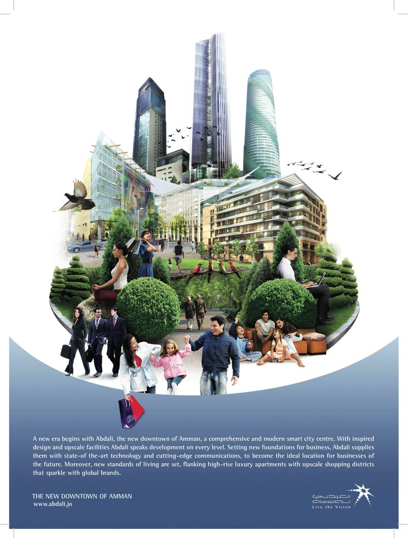 Abdali's 2009 corporate ad/theme