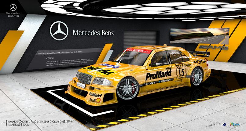 Mercedes Benz AMG DMT Studio