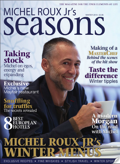 Michel Roux JR  Seasons