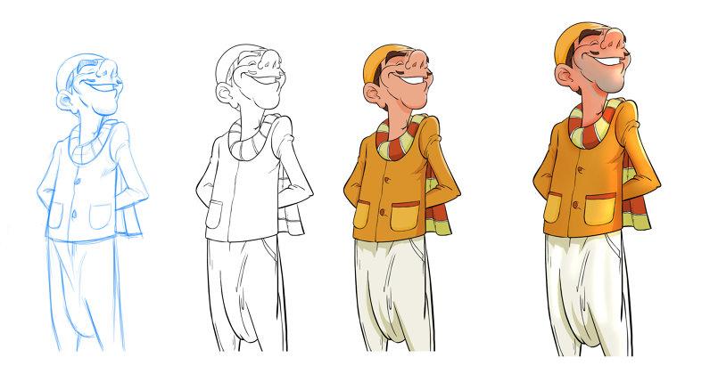 شخصيات كرتونية
