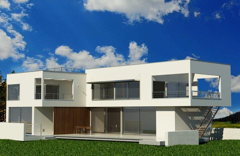 مشروع منزل ريفي