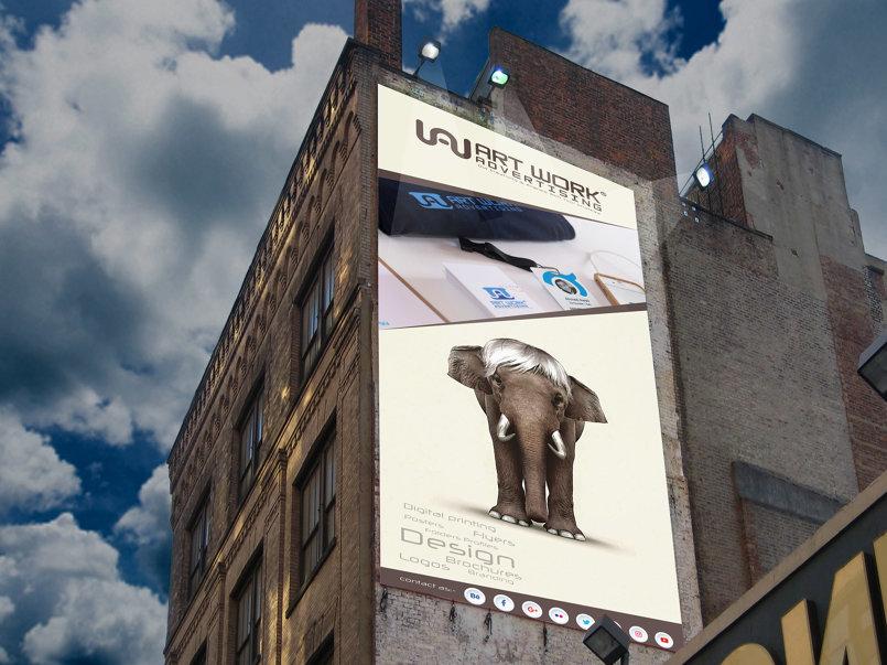 art work advertising