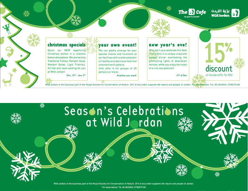 Season's celebrations flyer