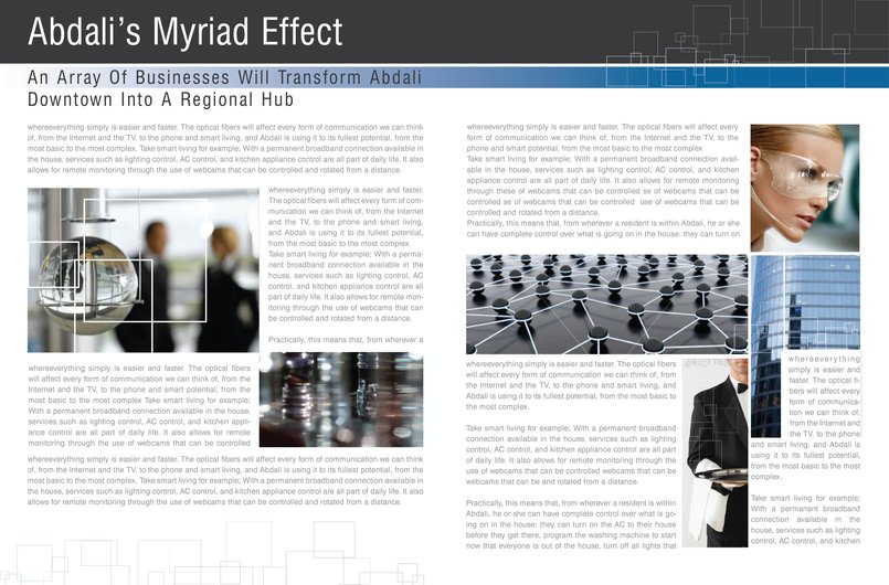 Advertorial for Abdali Psc