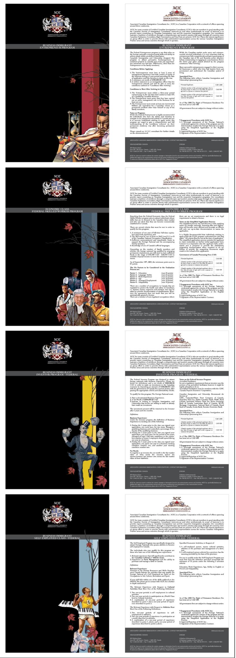 Booklets, Brochures, Flyers, Pamphlets .. etc ..