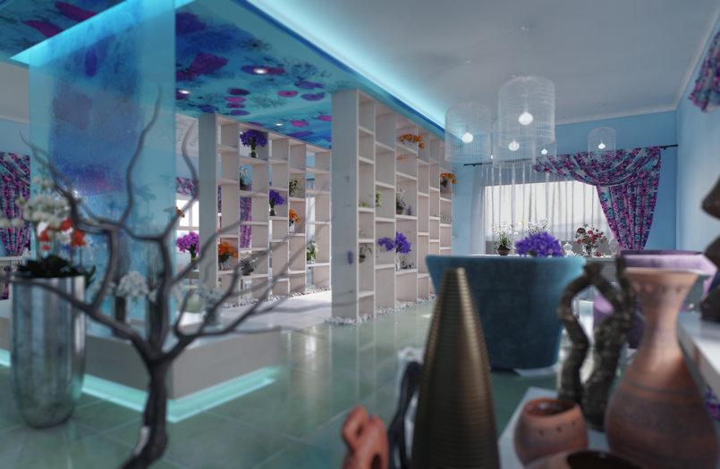 نماذج من أعمالي في مجال الاظهار المعماري