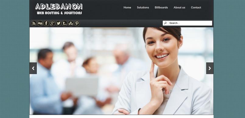 موقع الكتروني RESPONSIVE WEBSITE