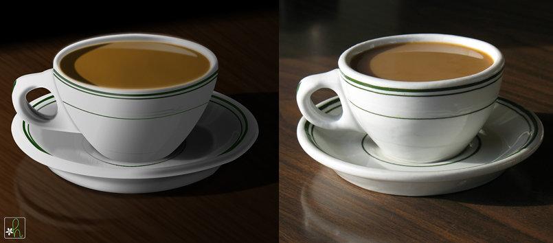 Coffee - Photorealistic Drawing