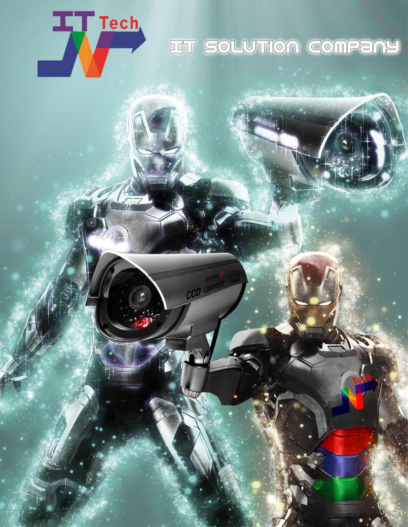 poster for camera control company
