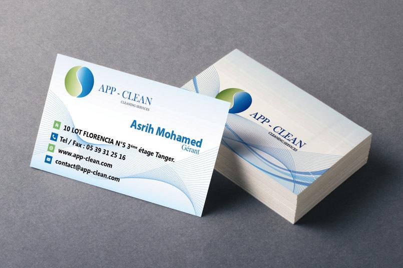 تصميم بطاقة الاعمال