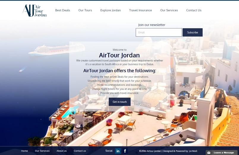 Air Tour Jordan