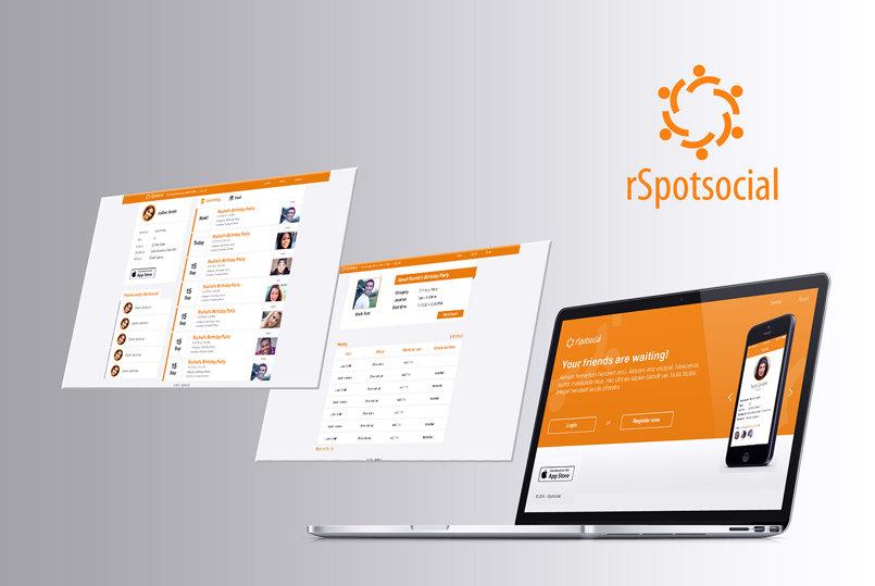 rSpotsocial Phone App