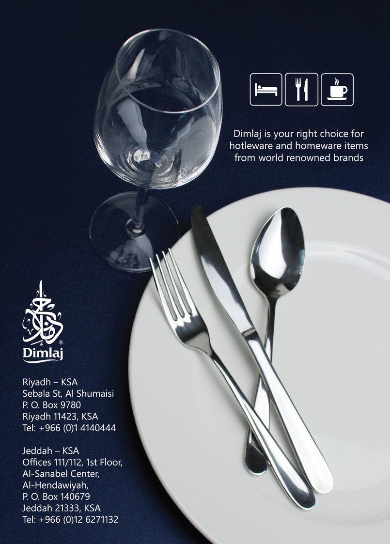 Used as an advirtisment in HORECA expo magazine - Dubai
