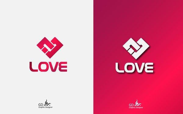 """شعار """"حب """" love"""