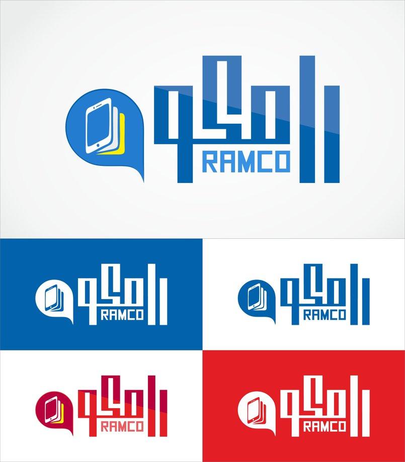 تصميم شعار لشركة رامكو للموبايلات