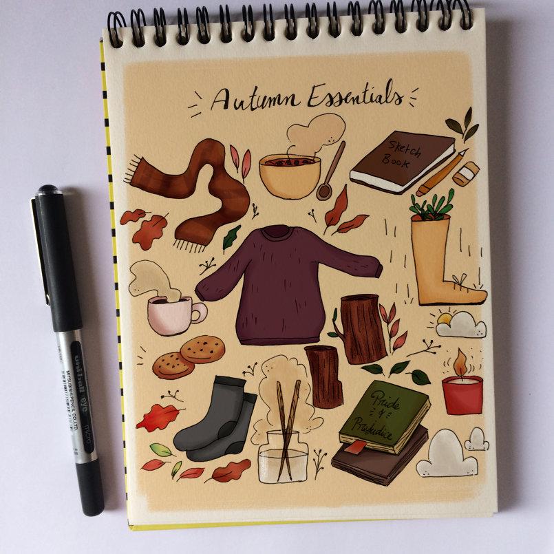 Day 2: Autumn essentials