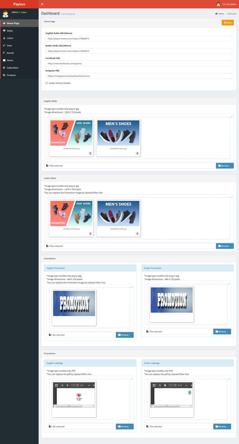 Payless Micro Site