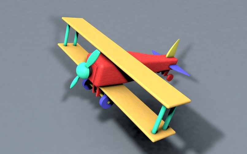 ( windsurfer ( Toy 3D Model