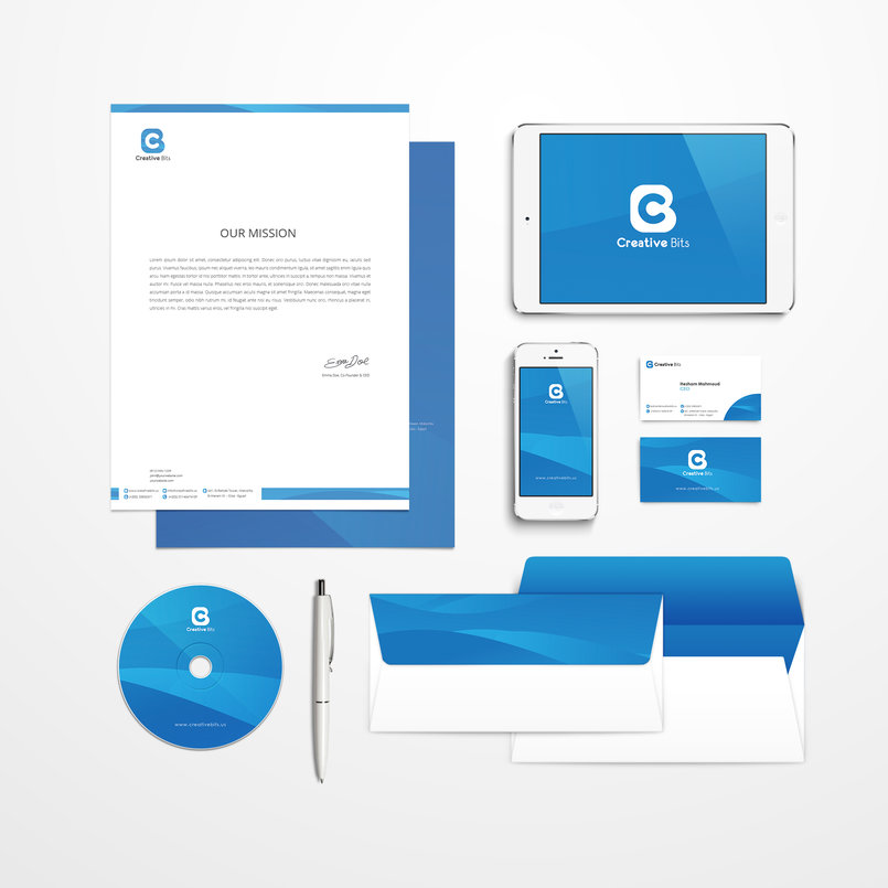 Creative Bits | Corporate Identity
