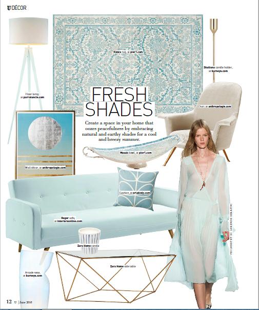 تصميم صفحات للمجلات