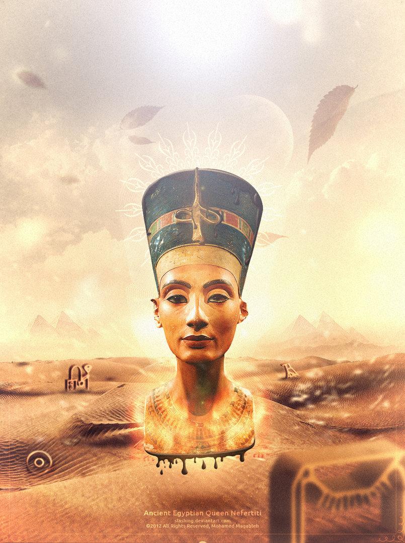 Nefertiti http://fav.me/d59670w