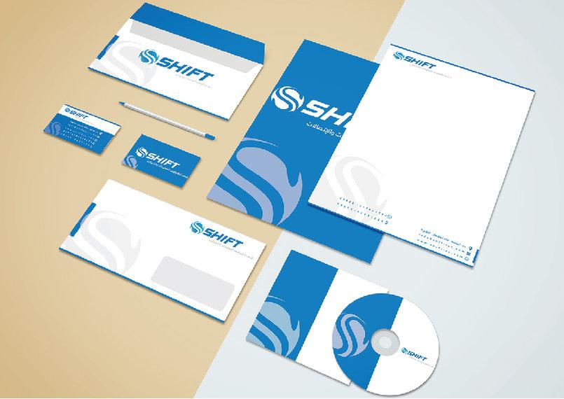 شعار وهوية شركة شفت لتكنولوجيا المعلومات والاتصالات