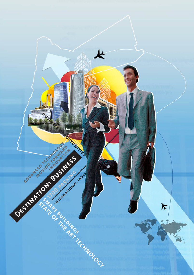 A 3-Part series of corporate ads for the Abdali project: 2009-2010
