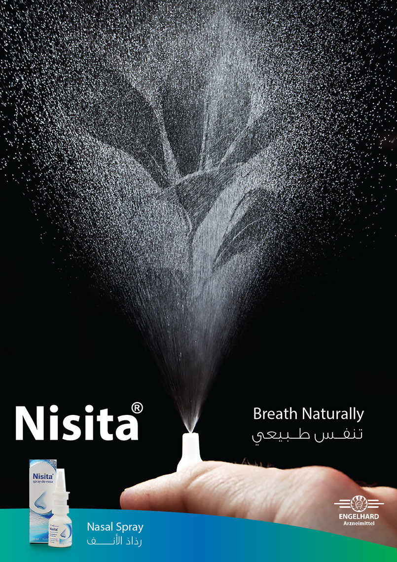 Nisita Nasal Spray Campaign (only a Sketch)