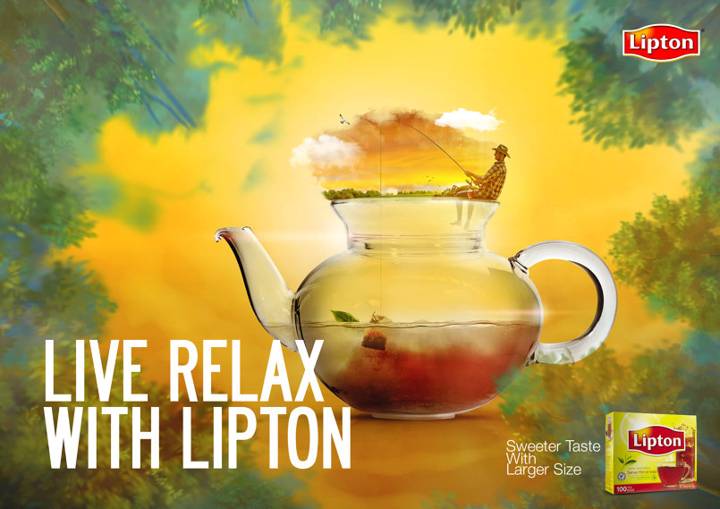 Lipton  ... Live Relax with it