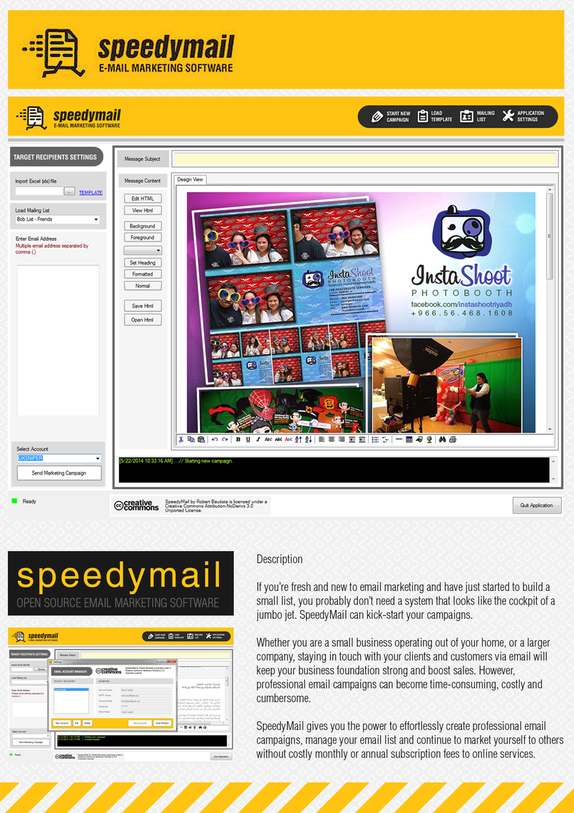 SpeedyMail: Email Marketing Software (opensource)