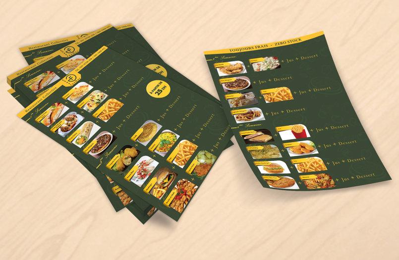 قائمة طعام 2