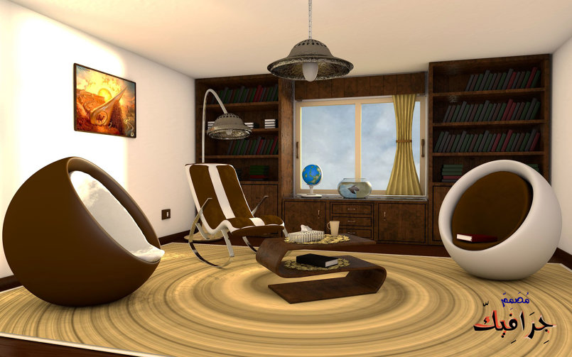 Office room 3D