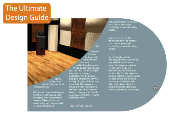 Inner page of the Design guide