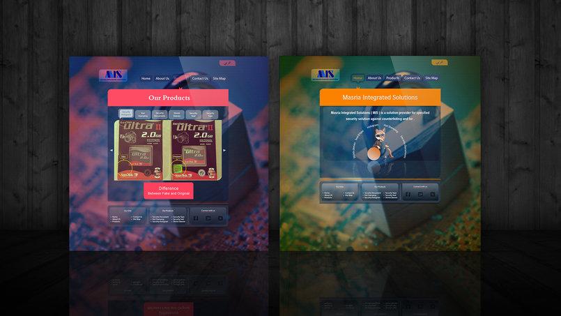MIS Website Design