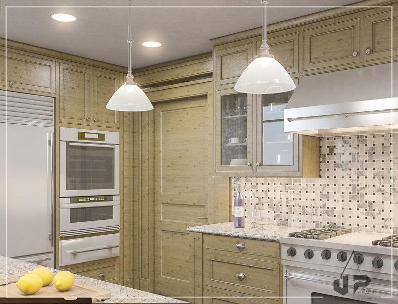 تصميم داخلي لمطبخ