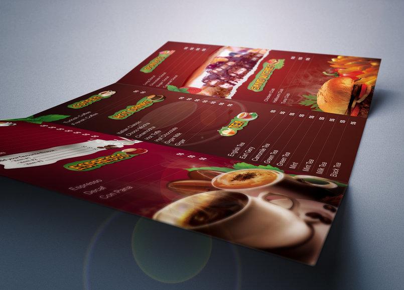 Cafe/ Restaurant Menu