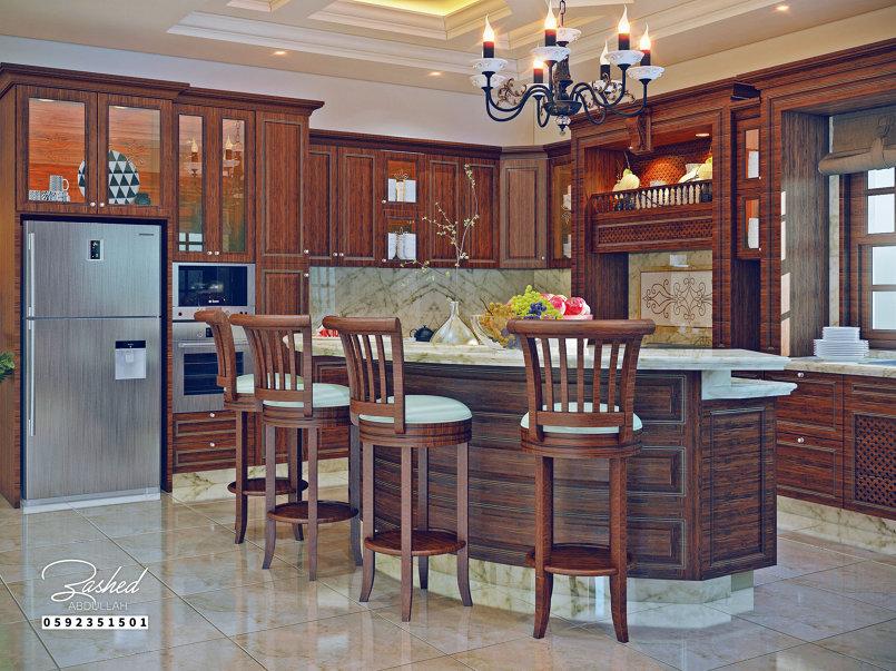 Kitchen Classic / مطبخ كلاسيكي