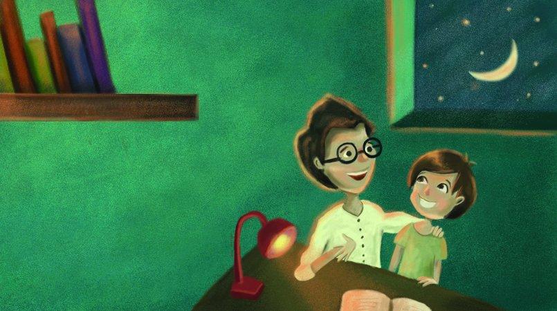 Children books painting