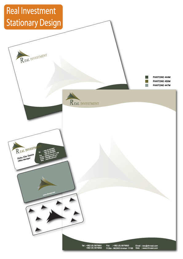 Company identity and stationary design