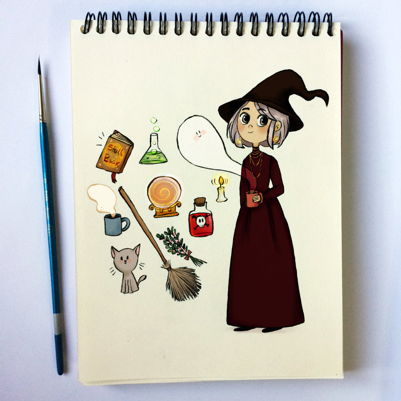 Day 9: Witchy Essentials