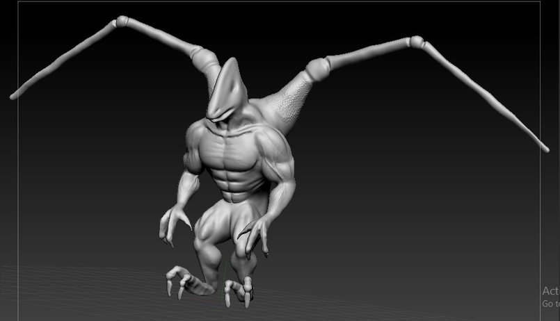 Zbruch creature