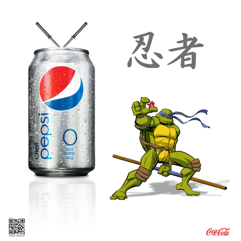 Teenage Mutant Ninja Turtles Pepsi
