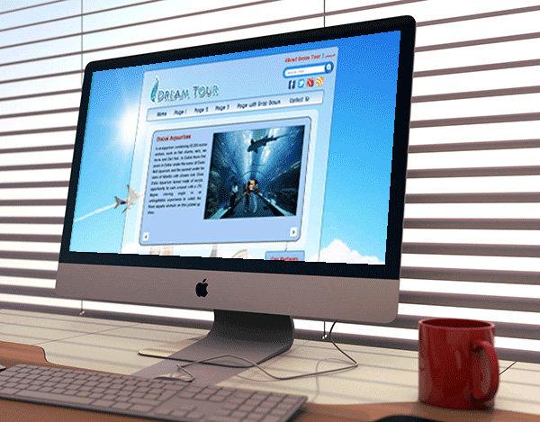 Web Design - Designed in 2013