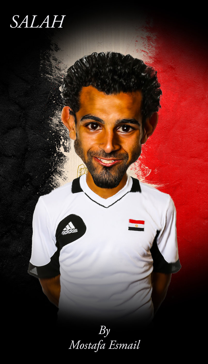 Mohamed Salah Egyptian player
