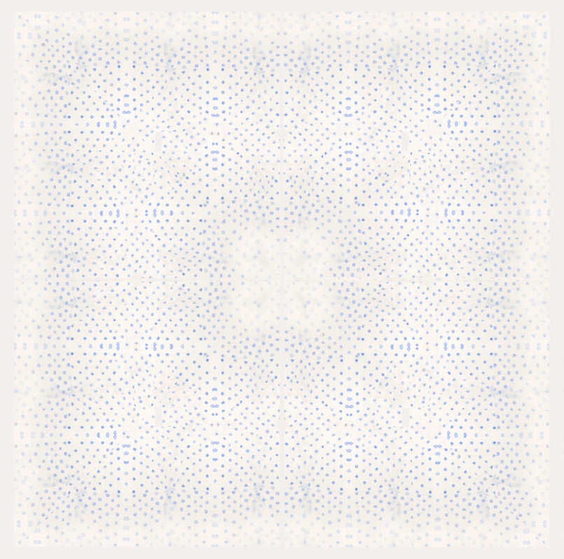 Polka print design made for textile