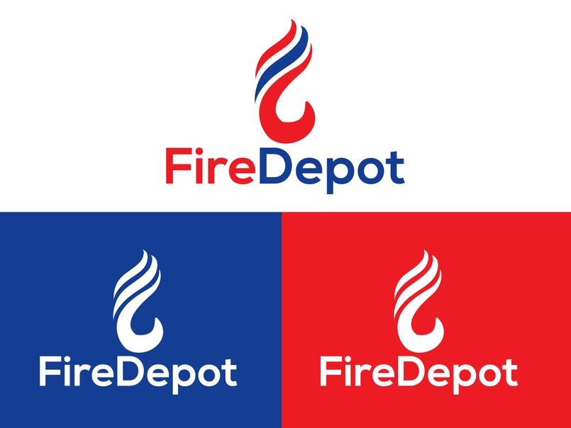 FireDepot - Logo Design