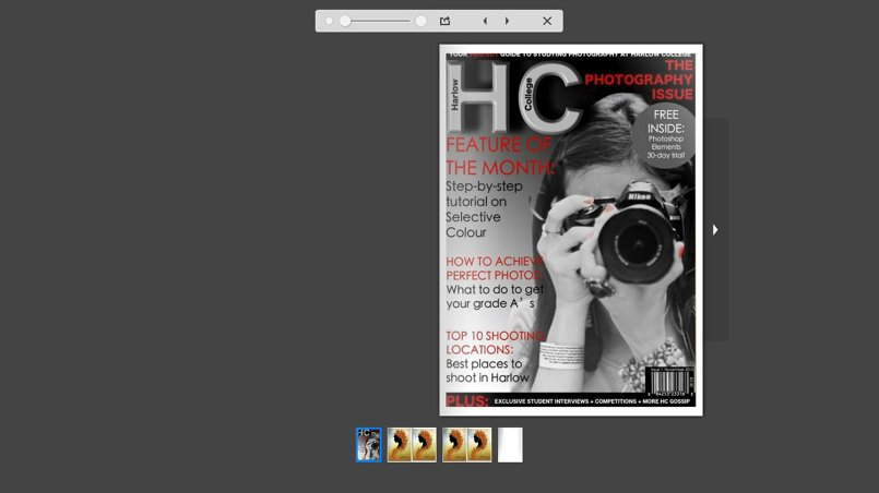 Design magazine online